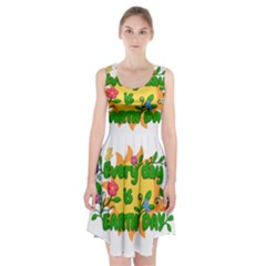 Earth Day Racerback Midi Dress
