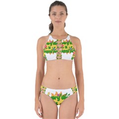 Earth Day Perfectly Cut Out Bikini Set