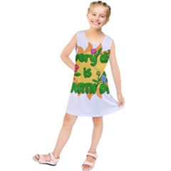 Earth Day Kids  Tunic Dress