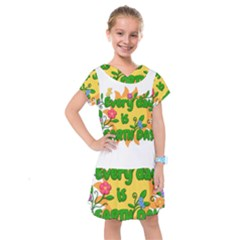 Earth Day Kids  Drop Waist Dress