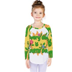 Earth Day Kids  Long Sleeve Tee