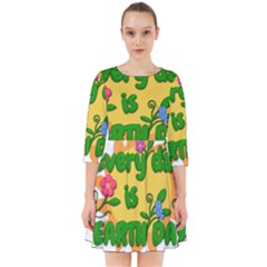Earth Day Smock Dress