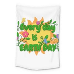Earth Day Small Tapestry