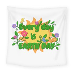 Earth Day Square Tapestry (Large)