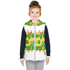 Earth Day Kid s Hooded Puffer Vest