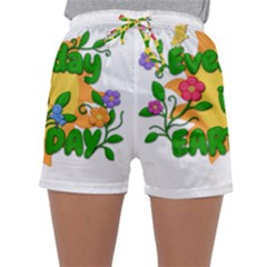 Earth Day Sleepwear Shorts