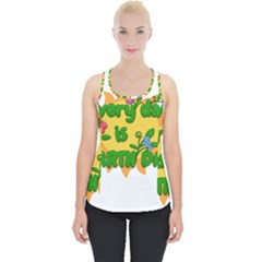 Earth Day Piece Up Tank Top