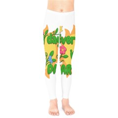 Earth Day Kids  Legging