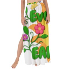 Earth Day Maxi Chiffon Tie-Up Sarong