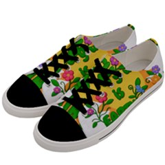 Earth Day Men s Low Top Canvas Sneakers