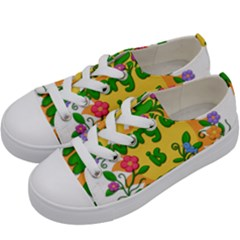 Earth Day Kids  Low Top Canvas Sneakers