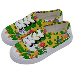 Earth Day Kids  Classic Low Top Sneakers
