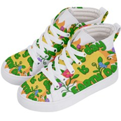 Earth Day Kid s Hi-Top Skate Sneakers