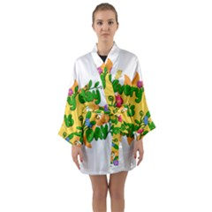Earth Day Long Sleeve Kimono Robe
