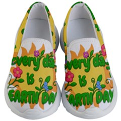 Earth Day Kid s Lightweight Slip Ons