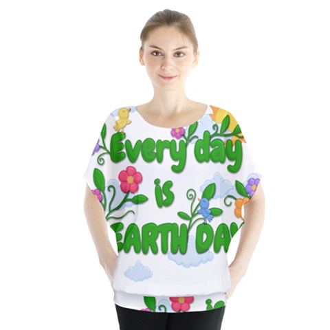 Earth Day Blouse by Valentinaart