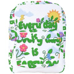 Earth Day Full Print Backpack by Valentinaart