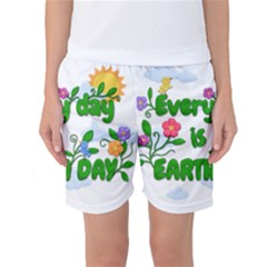 Earth Day Women s Basketball Shorts