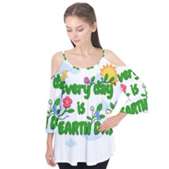 Earth Day Flutter Tees