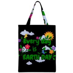 Earth Day Zipper Classic Tote Bag by Valentinaart