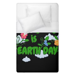 Earth Day Duvet Cover (single Size) by Valentinaart
