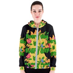 Earth Day Women s Zipper Hoodie