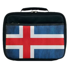 Iceland Flag Lunch Bag by Valentinaart
