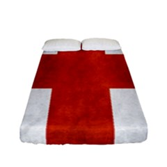 England Flag Fitted Sheet (full/ Double Size) by Valentinaart