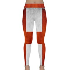 England Flag Classic Yoga Leggings by Valentinaart