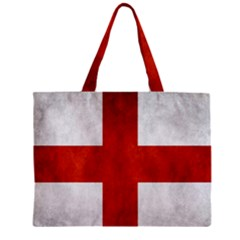 England Flag Zipper Mini Tote Bag by Valentinaart