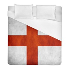 England Flag Duvet Cover (full/ Double Size) by Valentinaart