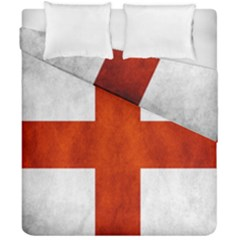 England Flag Duvet Cover Double Side (california King Size)