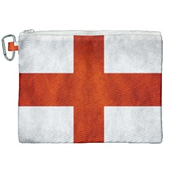 England Flag Canvas Cosmetic Bag (xxl) by Valentinaart