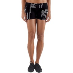 Save The Planet   Religions  Yoga Shorts