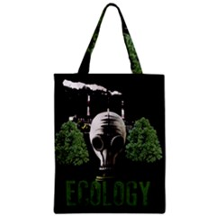 Ecology Zipper Classic Tote Bag by Valentinaart