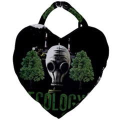 Ecology Giant Heart Shaped Tote