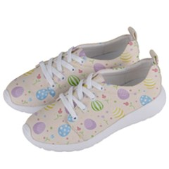 Easter Pattern Women s Lightweight Sports Shoes by Valentinaart