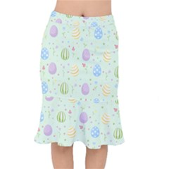 Easter Pattern Mermaid Skirt
