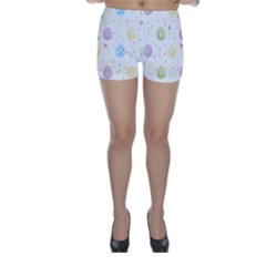 Easter Pattern Skinny Shorts
