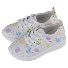 Easter Pattern Kids  Lightweight Sports Shoes by Valentinaart