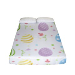 Easter Pattern Fitted Sheet (full/ Double Size) by Valentinaart