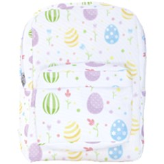 Easter Pattern Full Print Backpack by Valentinaart