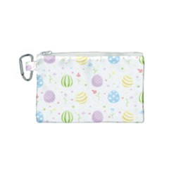 Easter Pattern Canvas Cosmetic Bag (small)