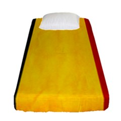 Belgium Flag Fitted Sheet (single Size)
