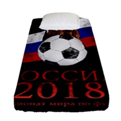Russia Football World Cup Fitted Sheet (single Size)