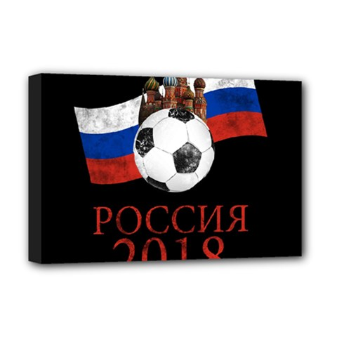 Russia Football World Cup Deluxe Canvas 18  X 12   by Valentinaart