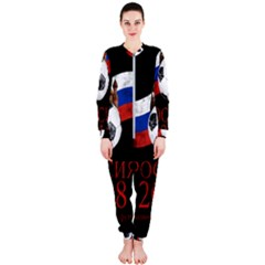 6292e1aa210a Russia Football World Cup Onepiece Jumpsuit (ladies) by Valentinaart