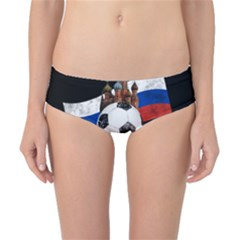 Russia Football World Cup Classic Bikini Bottoms by Valentinaart