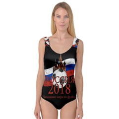Russia Football World Cup Princess Tank Leotard  by Valentinaart
