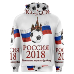 Russia Football World Cup Men s Overhead Hoodie